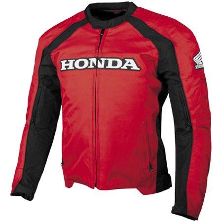 Honda Collection Supersport Textile Jacket Red Lg  549462 Honda Performance Textile Jacket