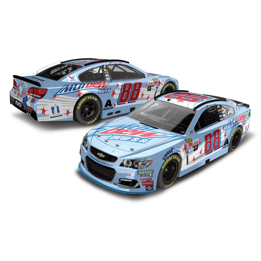 Dale Earnhardt Jr. Action Racing 2017 #88 Mountain Dew-S-A 1:24 Monster Energy Nascar Cup... by Lionel LLC