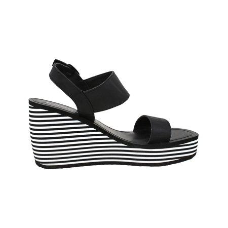 Rocket Dog Women's Tampicols Black Ankle-High Wedged Sandal - 10M - image 1 de 3