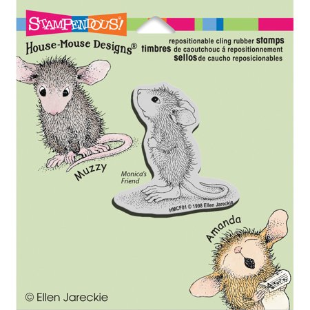 Stampendous Happyhopper Cling Stamp -Hopeful Mouse - image 1 of 1