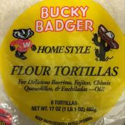 Bucky Badger Whole Wheat Flour Tortillas