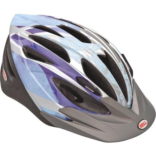 Bell Bellisima Chloe Purple Watercolor Bike Helmet, Adult