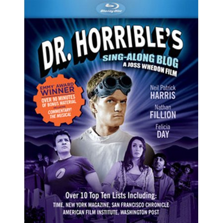 Dr. Horrible's Sing-Along Blog (Blu-ray) (Dog With A Blog See Stan Blog Games)