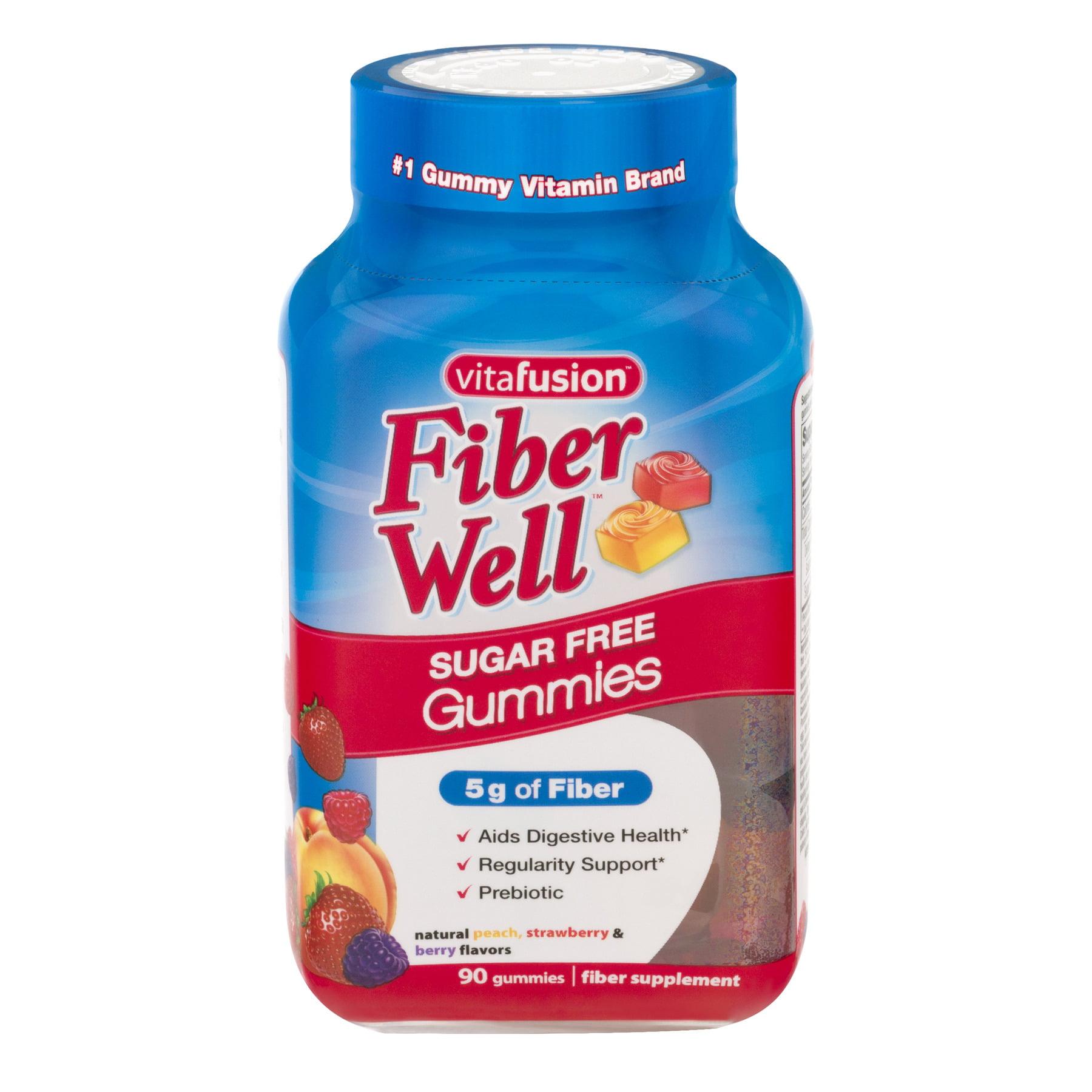 Vitafusion Fiber Well Gummies Sugar Free - 90 CT90.0 CT
