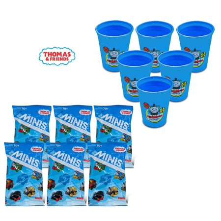 Warp Gadgets Bundle - Fisher-Price Party Bundle X6 Thomas and Friends Minis Mystery and Party Bundle 2Pk 12 Oz. Cups X3 (9 Items)](Thomas And Friends Birthday Invitations)