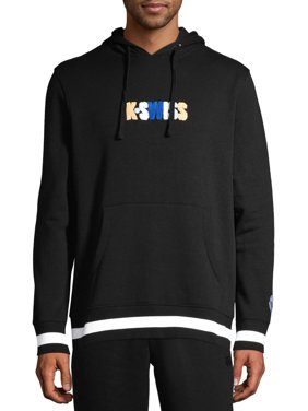 K-Swiss Men's Fleece World Tour Hooded Sweatshirt