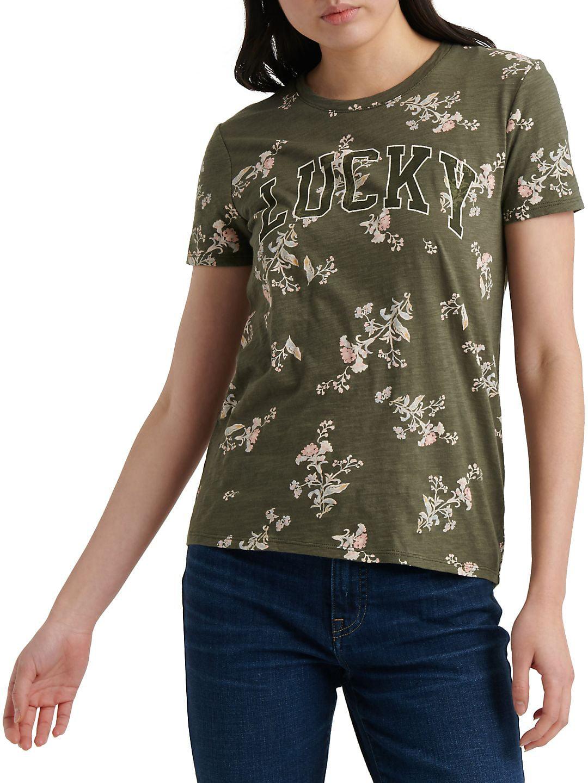 INC Womens Brown Printed Short Sleeves Pullover Top Shirt Plus 2X BHFO 0156