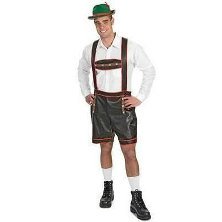Barvarian Yodeler Lederhosen Costume Mens - Mens Lederhosen Costume