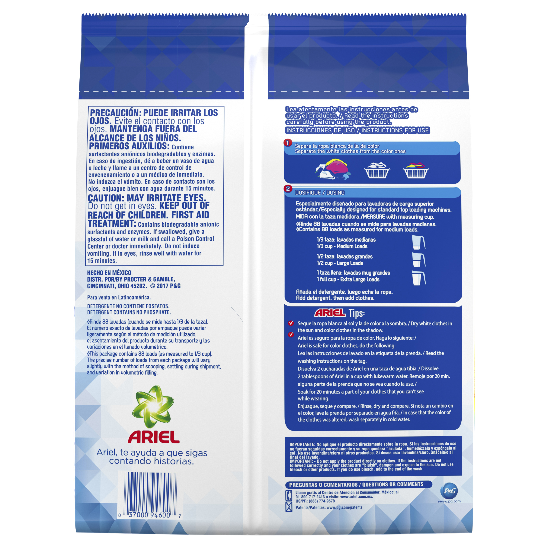Ariel Laundry Detergent Powder, Original, 88 Loads 141 oz oz
