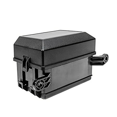 Automotive Fuse Block - 12-Slot Relay Box 6 Relays 6 ATC/ATO Standard Fuses Holder Block with 41pcs Metallic Pins Universal for Automotive and Marine Use