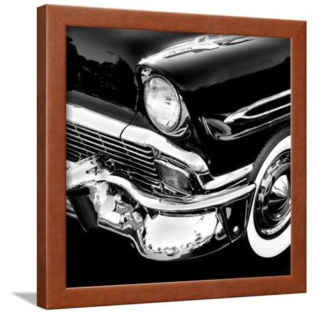 Vintage Car Framed Print Wall Art - Walmart.com