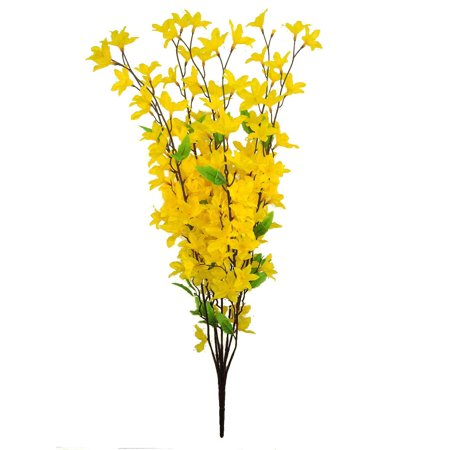 Admired By Nature 7 Stems Artificial Star Flower Bush, -