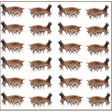 12 Sets Moose Antler Drawer Cabinet Pull Handle Hardware (Antler Cab Pull)