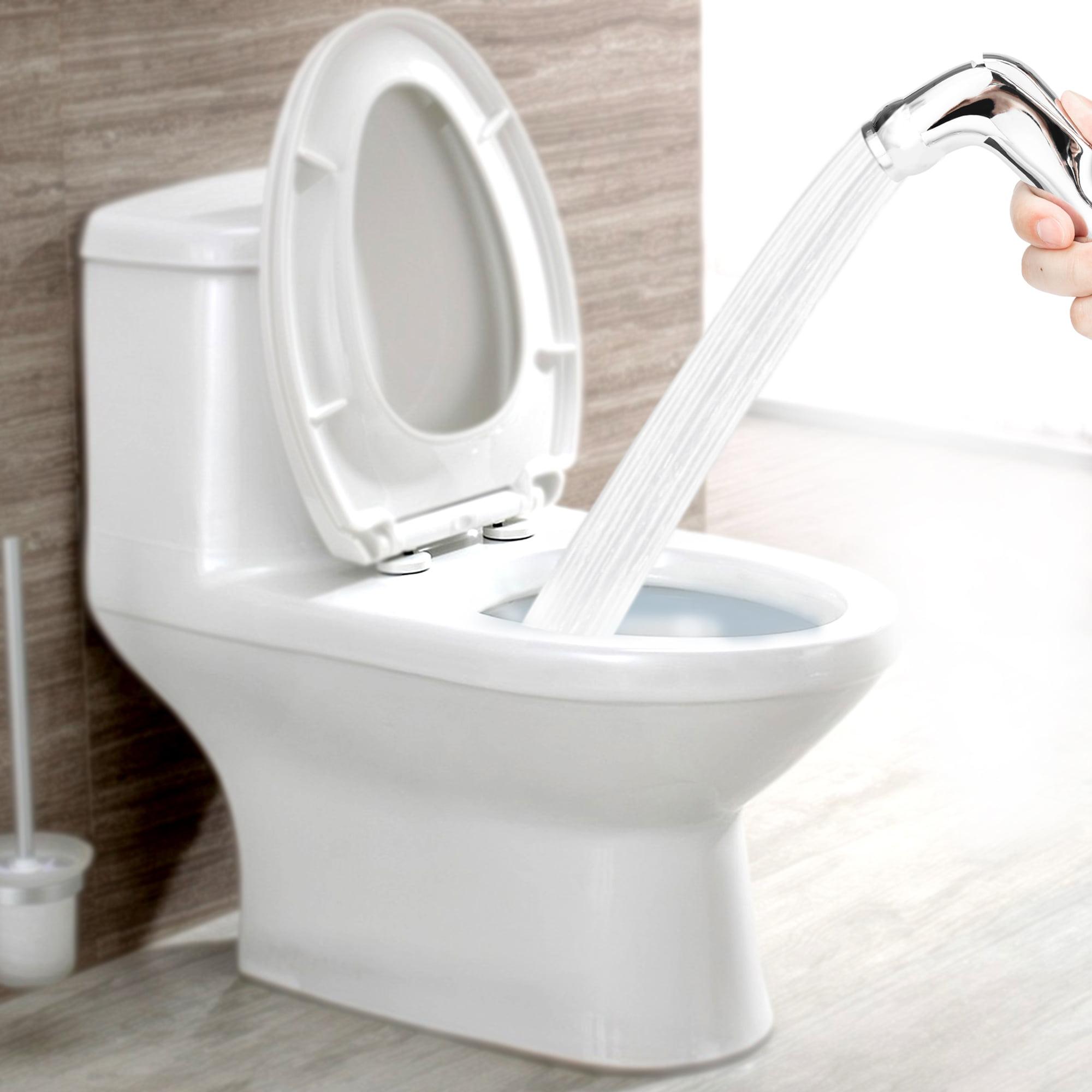 Handheld Bidet Sprayer For Toilet Seat With Anti Leaking Hose Toilet Or Wall Mounted Multi Function Bathroom Spray Gun Walmart Com Walmart Com