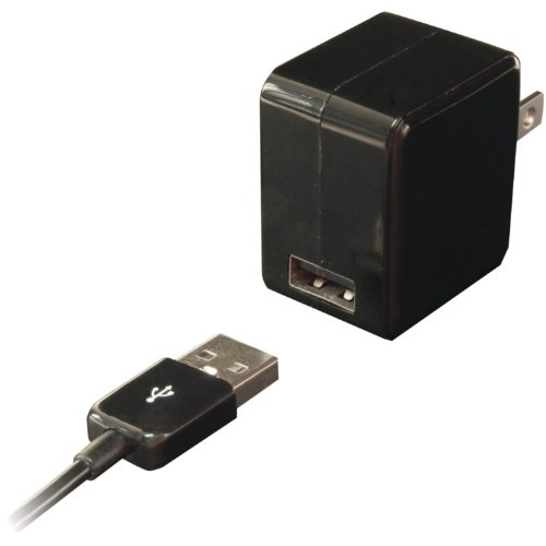 iEssentials USB Wall Charger with USB 30-pin Cable