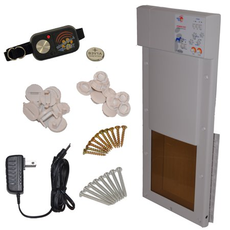 - Model PX-1 Power Pet Fully Automatic Pet Door, Size: Medium, for Dogs and Cats up to 30 lbs.