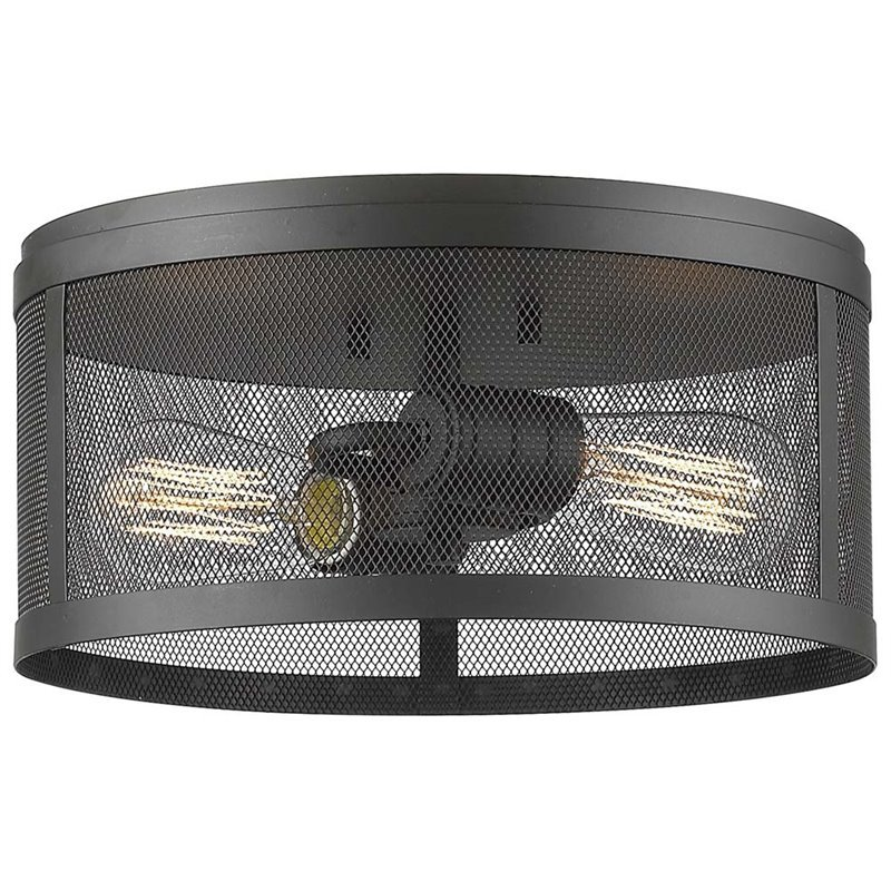 2 Light Flush Mount - image 1 de 1