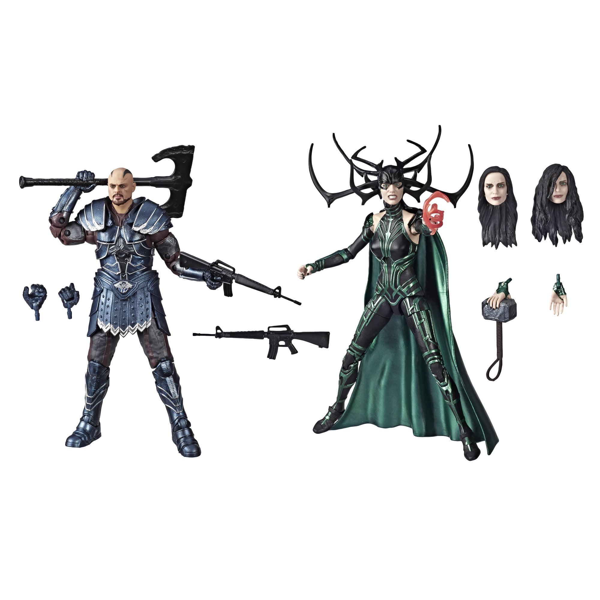 Marvel Legends Series Skurge and Marvel's Hela