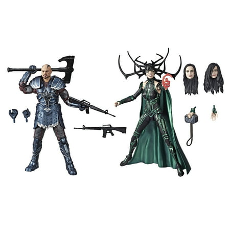 Marvel Legends Series Skurge and Marvel's Hela, Ages 4 and Up