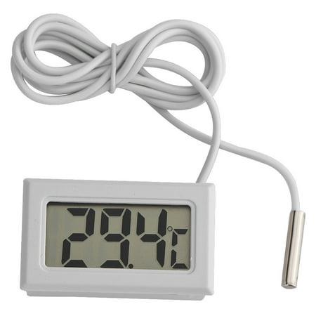 Lcd Digital Temperature Sensor - Anauto Mini LED Display Digital Temperature Meter Probe Sensor Digital LCD Thermometer,Digital Thermometer, Thermometer for Water Cooling