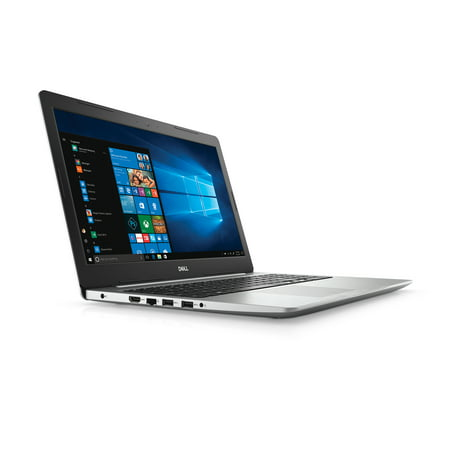 "Dell Inspiron i5570-7987SLV, 15.6"" HD Display, Intel i7-7500U, 4GB RAM, 1TB HDD, Windows 10 Home, Silver"
