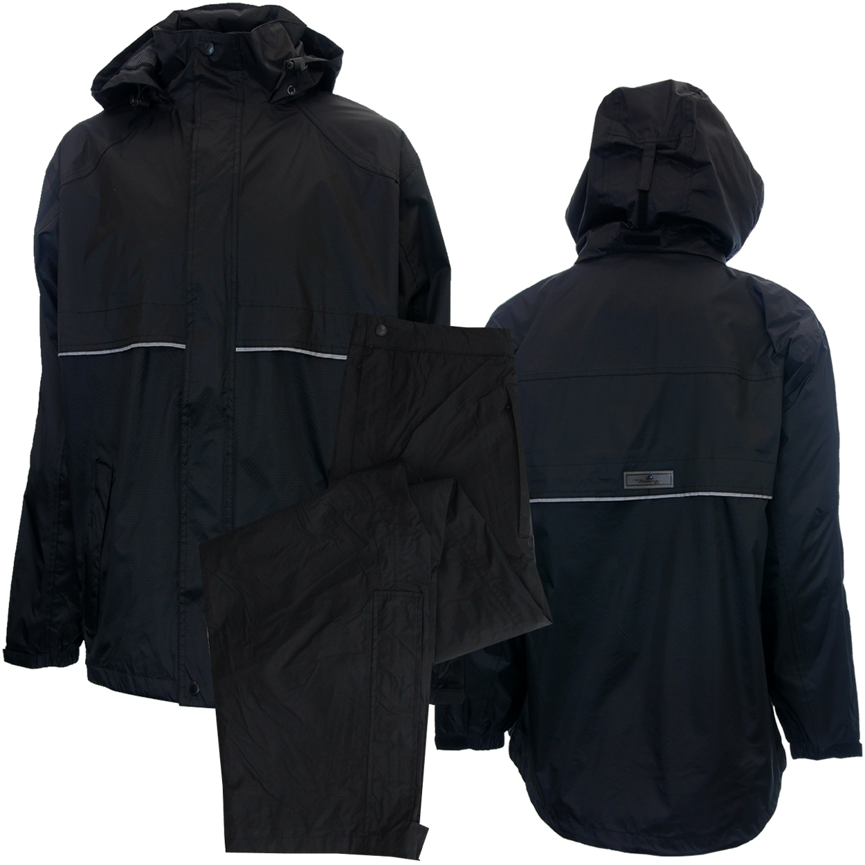 the latest 6b131 1ffbf The Weather Company Men's Golf Breathable Rain Suit with Hood • Jacket &  Pants -