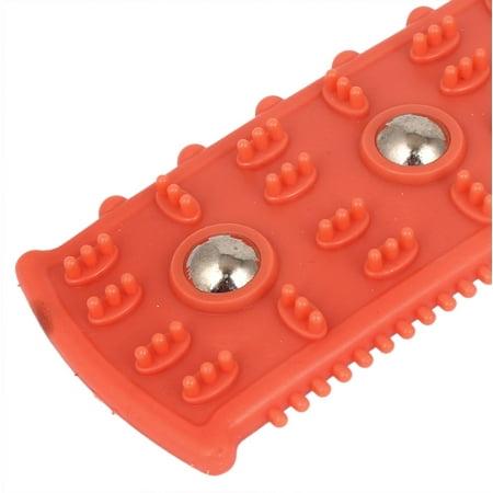 Plastic Raised Tooth Massage Skin Treatment Guasha Board Coral Pink - image 2 de 3
