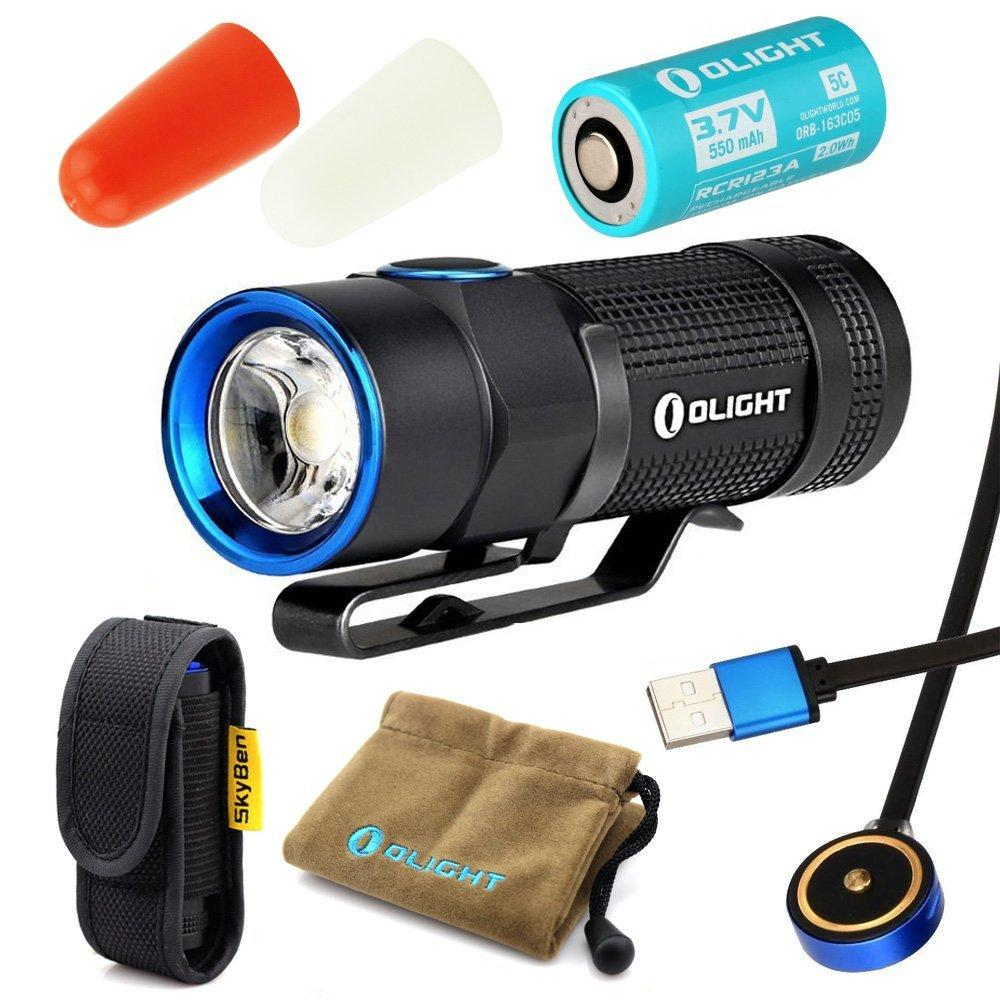 Novelty bundle: olight s1r baton cree xm-l2 led 900 lumen...