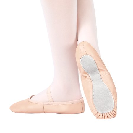 - Adult Economy Leather Full Sole Ballet Shoes