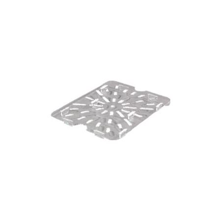 Carlisle 10235 Half Size Clear Food Pan Drain Tray