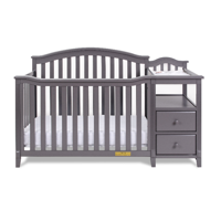 Kali 4-in-1 Convertible Crib and Changer