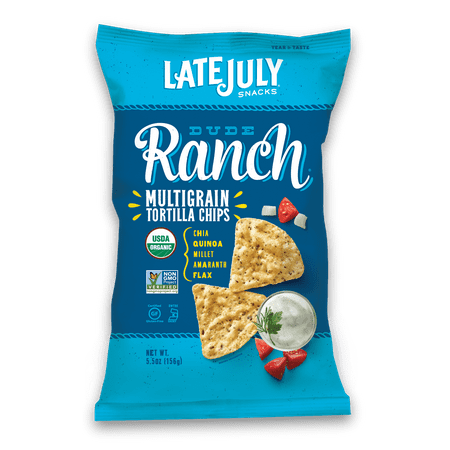 Late July Organic Gluten Free Dude Ranch Multigrain Snack Chips, 5.5 OZ