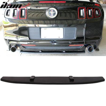 Ford Mustang Rear Bumper (Fits 13-14 Ford Mustang V6 V8 Rear Bumper Center Diffuser Splitter)