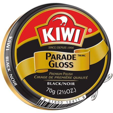 Kiwi Parade Gloss - Kiwi Black Large Parade Gloss Premium Shoe Polish