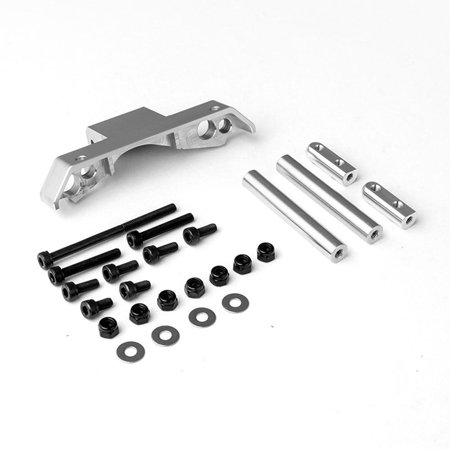 Gmade Gma30015 Gs01 Front Axle Truss Upper Link Mount (Silver) Upgrade Parts
