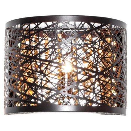 Maxim Lighting Inca Bronze Metal And Steel 1 Light Wall