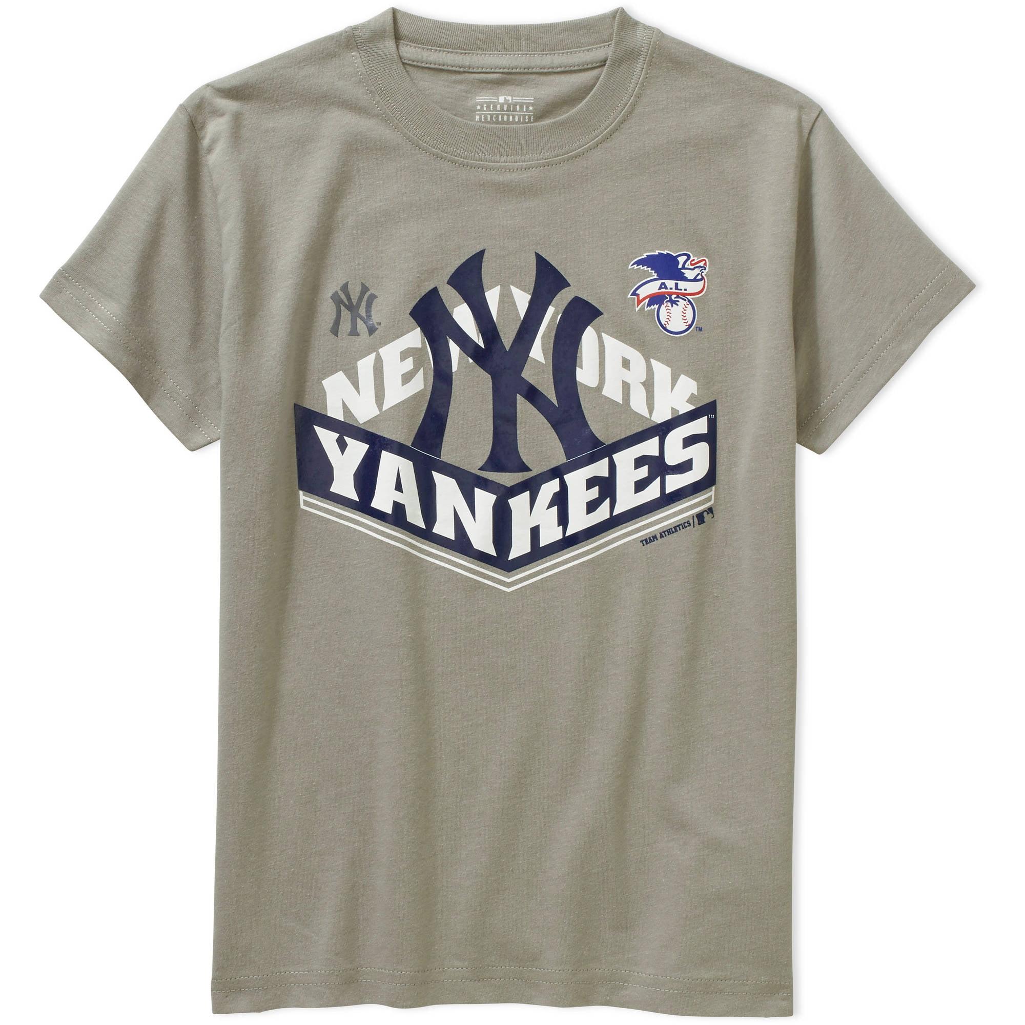 MLB  Boys' New York Yankees  Alternate Team Short Sleeve Tee