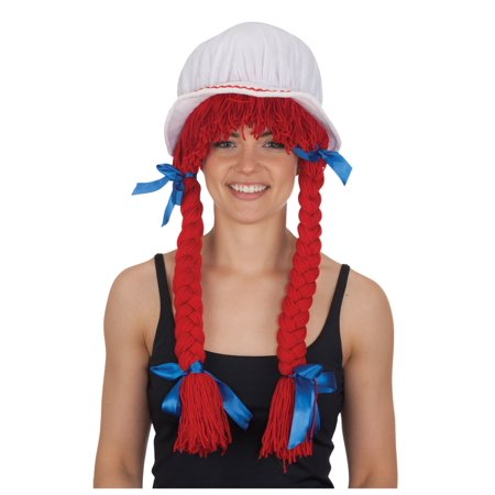 Deluxe Rag Doll Wig (Rag Dolls Halloween Night)