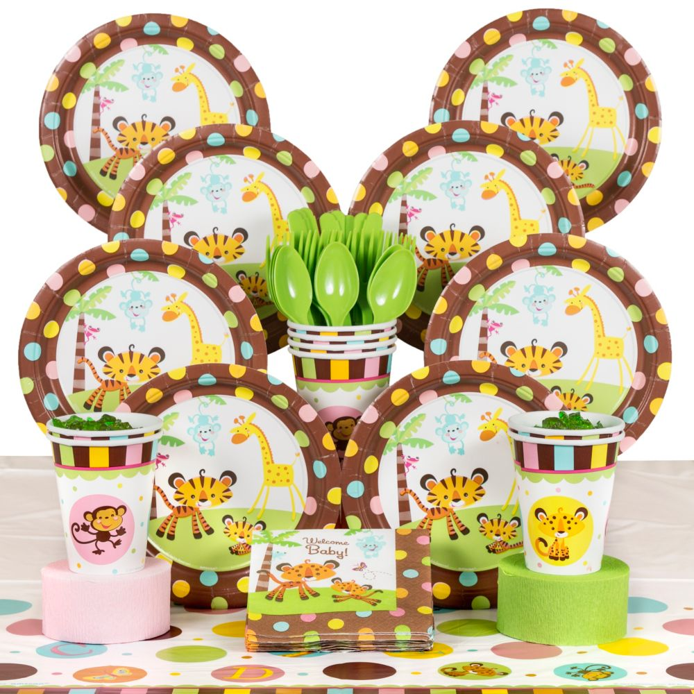 Fisher Price Baby Shower Deluxe Kit (Serves 8)   Party Supplies