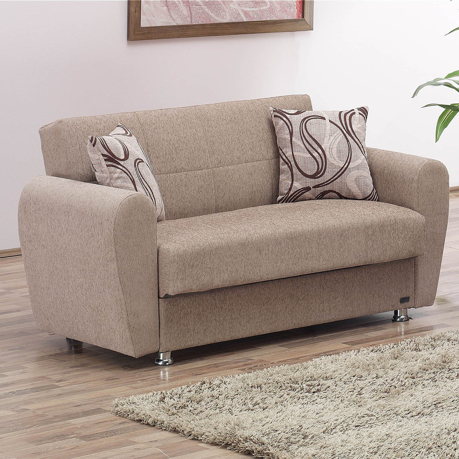 Empire Furniture USA Colorado Convertible Storage Loveseat