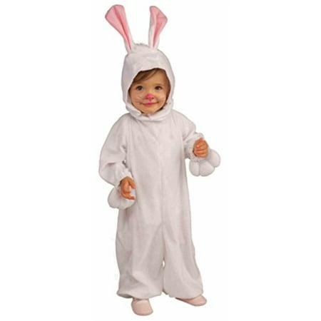 Forum Novelties Kids Fleece Bunny Rabbit Costume, Toddler, One - Kids Bunny Rabbit Costume