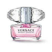 ($20 Value) Versace Bright Crystal Mini Eau De Toilette Perfume For Women, 0.17 Oz
