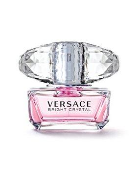 Versace Bright Crystal Eau de Toilette, Perfume for Women, 0.17 Oz, Mini & Travel Size