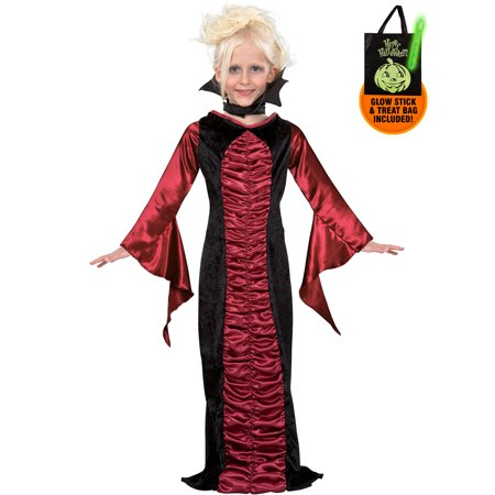 Gothic Vampire Child Costume Treat Safety Kit - Safety Costume