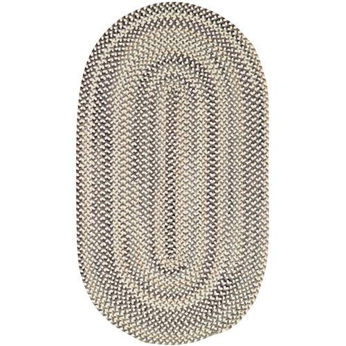 Sandy Rock Braided Rectangle Runner Rug, 2' x 8'