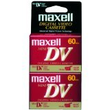 Maxell 298012 Mini Digital Video Tapes (2 Pk)