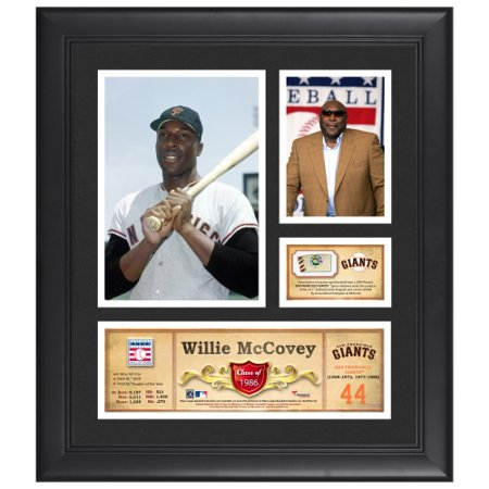 Willie McCovey San Francisco Giants Fanatics Authentic Framed 15