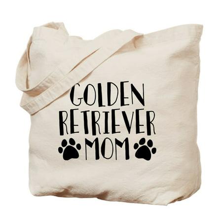 CafePress - Golden Retriever Mom - Natural Canvas Tote Bag, Cloth Shopping Bag
