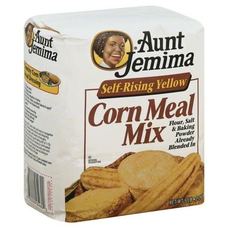 Aunt Jemima Self Rising Yellow Corn Meal Mix 80 Oz Bag