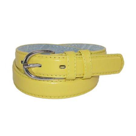 Toddlers Basic 1 Inch Leather Belt, Size: Small